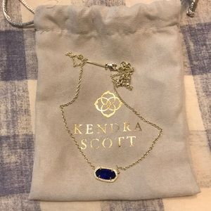 Kendra Scott necklace blue stone